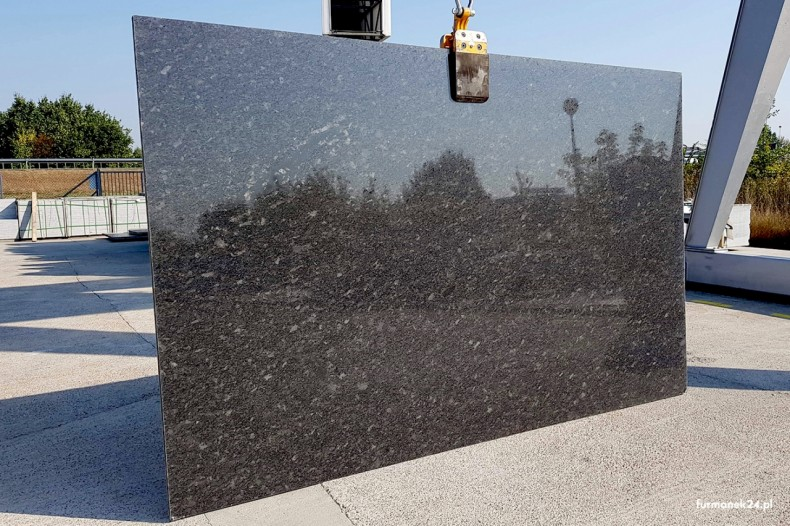 Slab granitowy Steel Grey