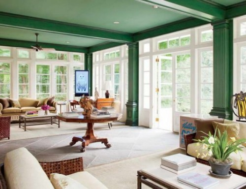 emerald-green-ceiling